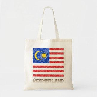 Minha pátria Malaysia Bolsa Tote