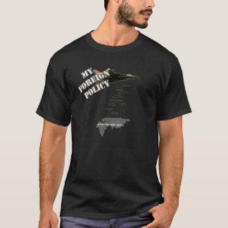 Minha política externa camiseta
