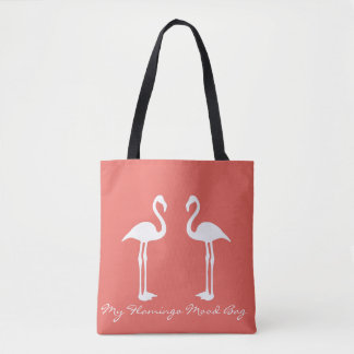 Minha sacola do humor do flamingo bolsas tote