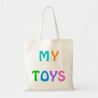 MINHA sacola dos BRINQUEDOS para crianças Bolsas