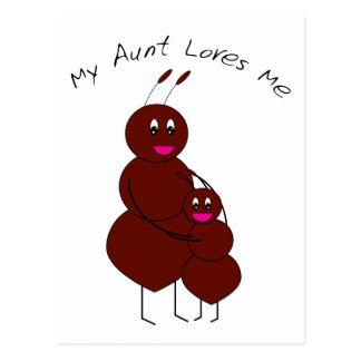 Minha tia Amor Me Cartão