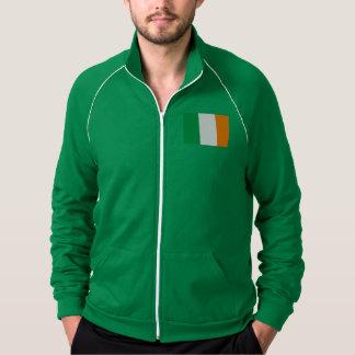 Minha tomada na jaqueta irlandesa da trilha da
