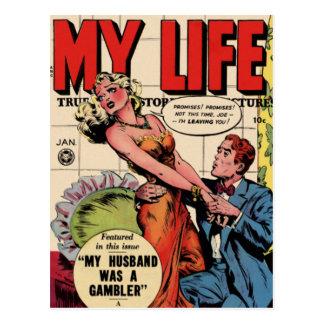 Minha vida cartão postal