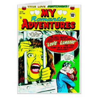 Minhas aventuras românticas cartoes
