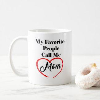 Minhas pessoas favoritas chamam-me caneca de café