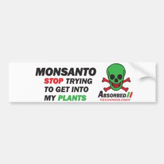 Minhas plantas adesivo para carro