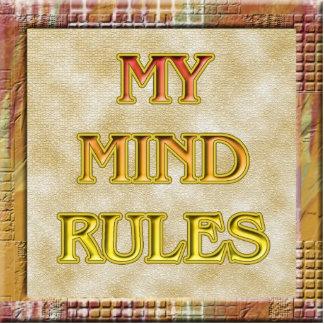 Minhas regras da mente fotoescultura