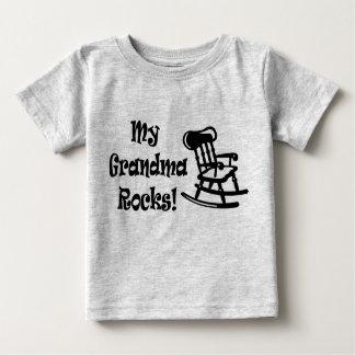 Minhas rochas da avó camiseta para bebê