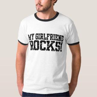 Minhas rochas do namorada camiseta