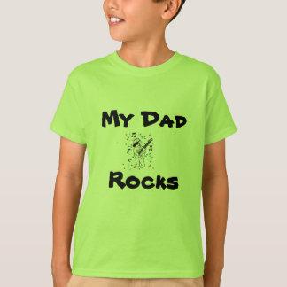Minhas rochas do pai camiseta