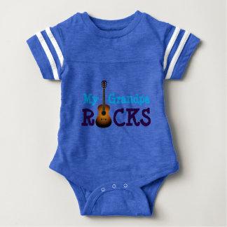 """""""Minhas rochas do vovô! """" Body Para Bebê"""