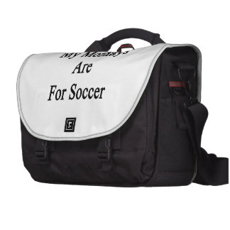 Minhas segundas-feiras são para o futebol mochila para notebook