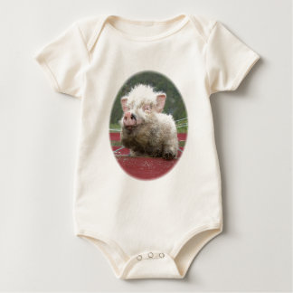 Mini bebê canadense do porco macacãozinhos para bebê