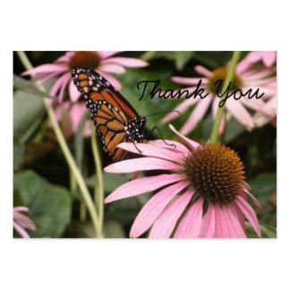 Mini borboleta Notecard Cartão De Visita Grande