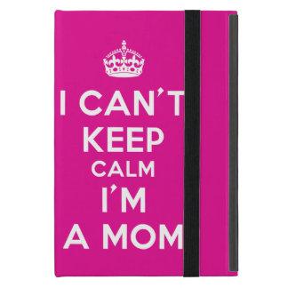 """Mini caixa do iPad cor-de-rosa """"que eu chanfro Capas iPad Mini"""