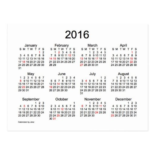 """... """"Printable Monthly Calendars For 2016/page/2"""" – Calendar 2015"""