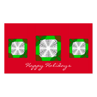Mini cartão customizável básico do feriado cartão de visita