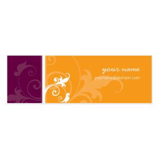 MINI CARTÃO DE VISITA:: verve 2 Cartão De Visita Skinny