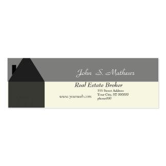 Mini-Cartão do corretor de imóveis Cartões De Visitas