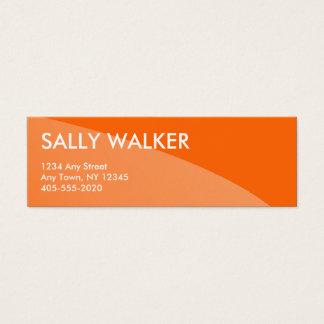 Mini cartões de visitas modernos profissionais