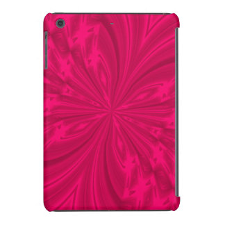 Mini caso do iPad abstrato do rosa da framboesa da Capa Para iPad Mini Retina