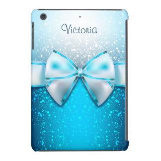 Mini caso do iPad azul feminino do feriado do Capa Para iPad Mini Retina