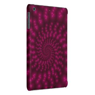 Mini caso do iPad espiral cor-de-rosa magenta do Capa Para iPad Mini Retina