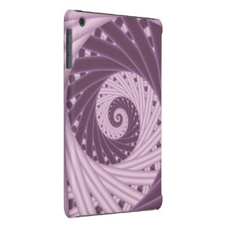 Mini caso do iPad espiral roxo do Fractal Capa Para iPad Mini Retina