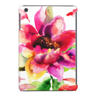 Mini caso do iPad tropical floral feminino do rosa Capa Para iPad Mini Retina