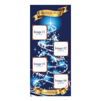 Mini catálogo do Natal 10.16 X 22.86cm Panfleto