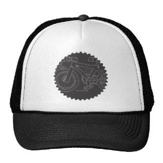 Mini chapéu do anel da corrente da bicicleta bone