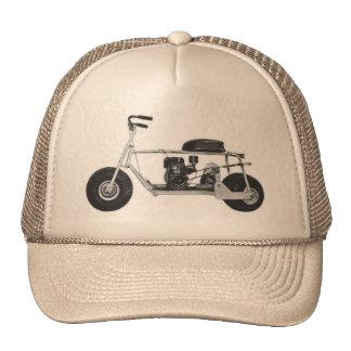 Mini chapéu do camionista da bicicleta boné