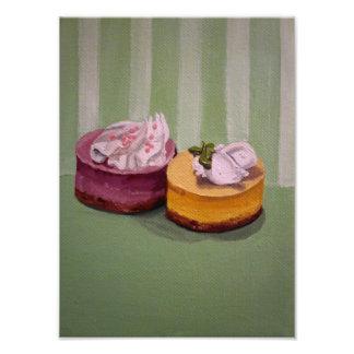 Mini foto dos bolos de queijo impressão de foto