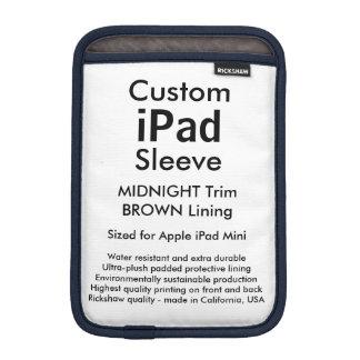 Mini luva do iPad feito sob encomenda - Capas Para iPad Mini