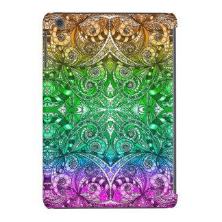 mini mal lá tiragem do iPad floral Capa Para iPad Mini Retina