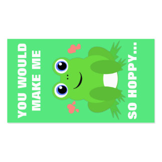 Mini namorados Hoppy Cartões De Visitas
