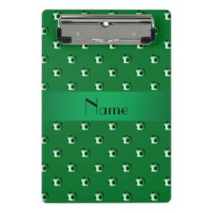 c255ae2c17 Mini Prancheta Bolas de futebol verdes conhecidas personalizadas