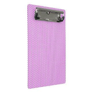 Mini Prancheta Bolinhas violetas do brilho