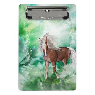 Mini Prancheta Cavalo bonito no país das maravilhas