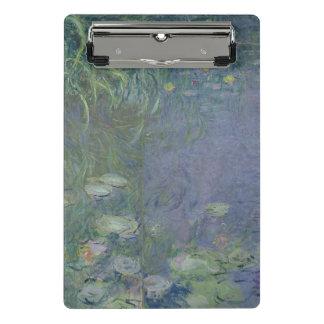 Mini Prancheta Claude Monet   Waterlilies: Manhã, 1914-18