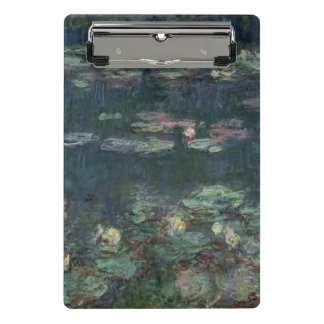 Mini Prancheta Claude Monet | Waterlilies: Reflexões verdes