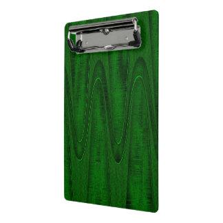 Mini Prancheta Design do verde de caçador