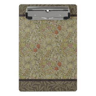 Mini Prancheta Design floral do impressão da arte do salgueiro do
