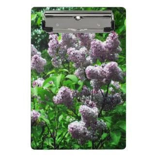 Mini Prancheta Lilac Bush bonito