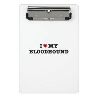 Mini Prancheta Mim coração meu Bloodhound