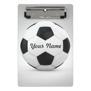 668311a6e3 Mini Prancheta Nome personalizado da bola de futebol