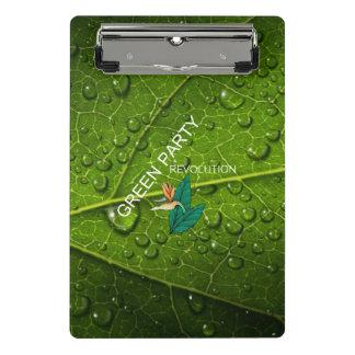 Mini Prancheta Partido Verde do T