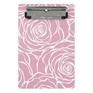 Mini Prancheta Peônias, floral, branco, cor-de-rosa, teste