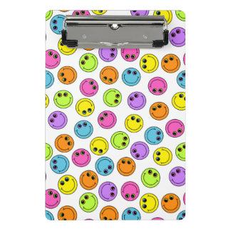Mini Prancheta Smileys face coloridos