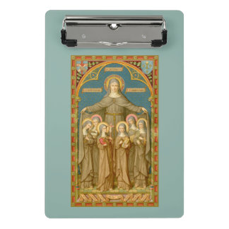 Mini Prancheta St. Clare de Assisi & das freiras (SAU 27)